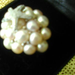 Honora Pearl Ring Size 7.5-8